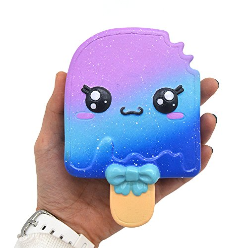 Lurcardo Squishy Kawaii, Galaxy Ice Cream Squishy Juguete Squishy Squeeze Squishies Slow Rising Squishes Juguete Estrés Alivio Suave Juguete Lento Aumento Juguetes Toys