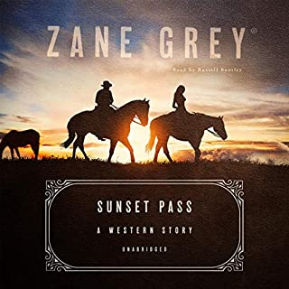 Sunset Pass audiobook cover art