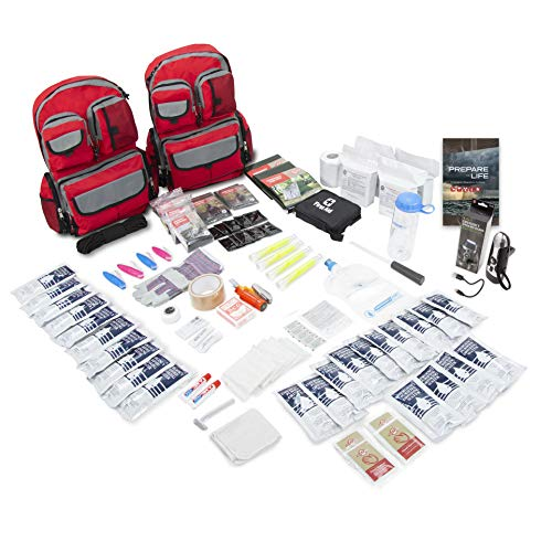 Emergency Zone 4 Person Family Prep 72 Hour Survival Kit/Go-Bag | Perfect Way to Prepare Your Family | Be Ready for Disasters Like Hurricanes,...