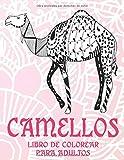 Camellos - Libro de colorear para adultos