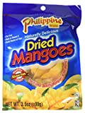 Philippine Brand Dried Mangoes, 3.53oz (Pack of 2)