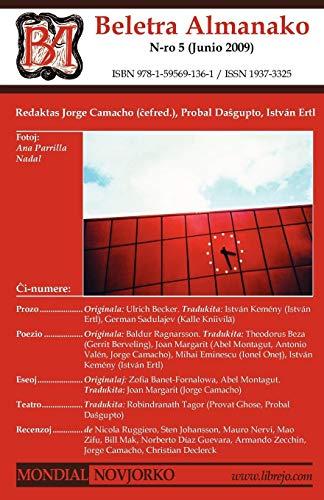 Beletra Almanako 5 (Ba5 - Literaturo En Esperanto) (Esperanto Edition) (Paperback)