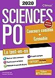 Concours Sciences Po - Concours commun + Grenoble 2020 - Nouveau programme - Tout-en-un