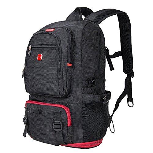 """Winkee SA7110-1 Zaino per computer portatile fino a 15,6"""" Nero"""