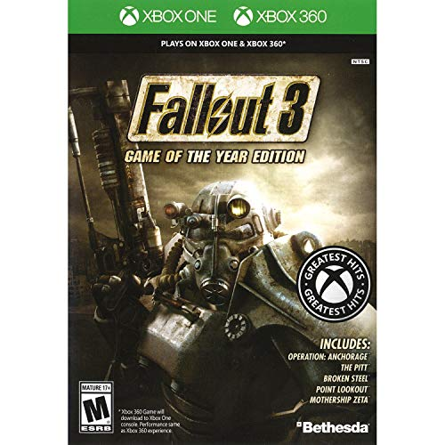 Fallout 3: Game of the Year Edition - Classic (Xbox 360) [Importación inglesa]
