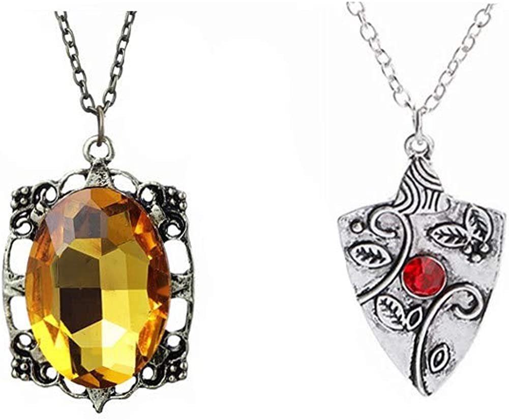 Winssigma 2 Pcs Bonnie Bennett Diaries The Selling rankings Set Vampire Limited Special Price Necklace