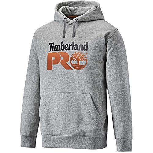 Timberland Pro Mens Hood Honcho Sport Hoodie Top Grey Marl