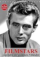 Filmstars - Legenden der goldenen Filmjahre (Tischkalender 2022 DIN A5 hoch): Die legendaeren Helden der goldenen Kinojahre (Planer, 14 Seiten )