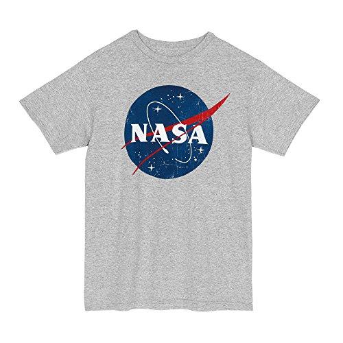 Nasa Logo T-Shirt (XX-Large, Gray)