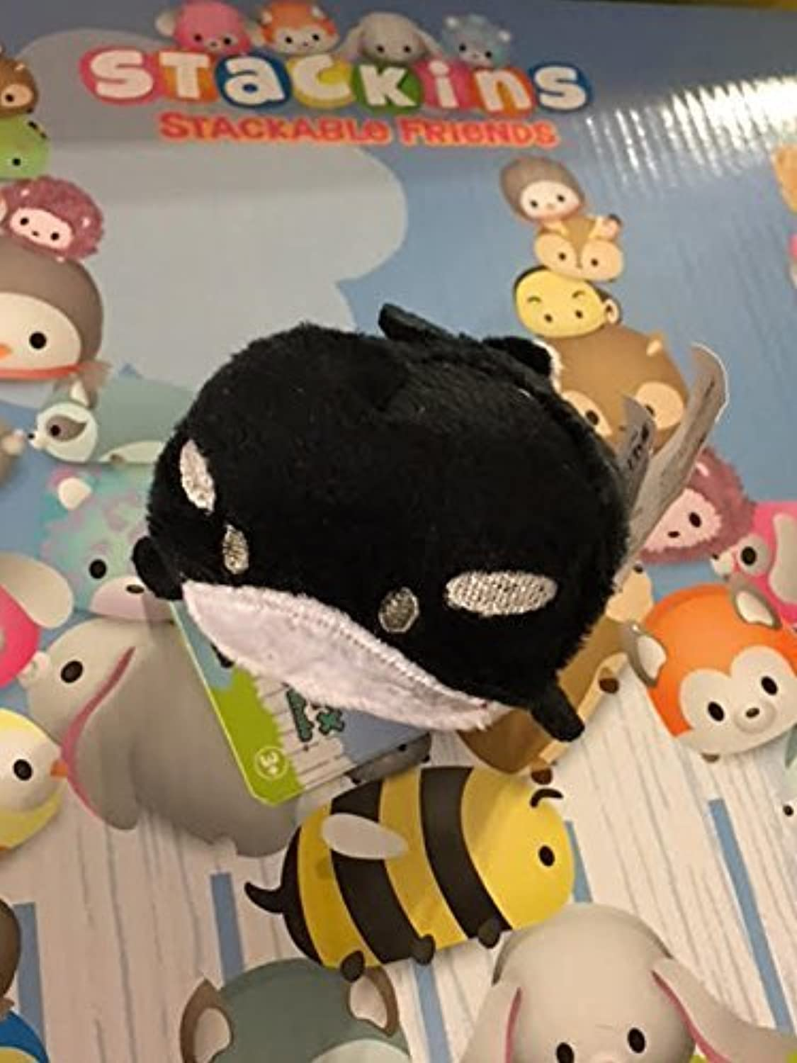 Funrise Stackins Stackable Friends- Onyx the Whale [並行輸入品]