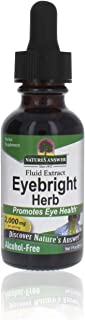 Nature's Answer Eyebright Herb | Supports Healthy Eyes & Vision | Non-GMO | Alcohol-Free, Gluten-Free, Kosher Certified, V...