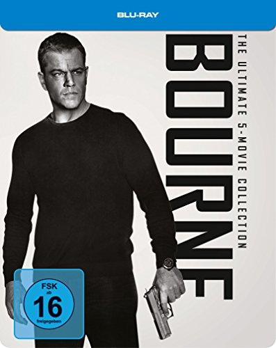 Bourne Box 1-5 (Steelbook) (exklusiv bei Amazon.de) [Blu-ray] [Limited Edition]