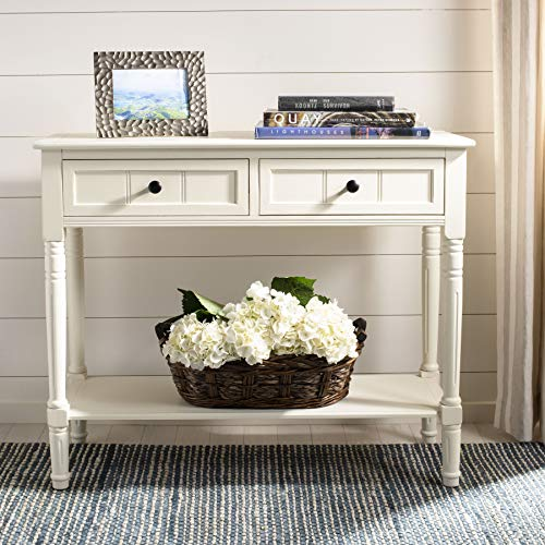 Safavieh American Homes Collection Samantha Distressed/Cream 2-Drawer Console Table