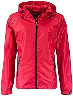 James & Nicholson Ladies' Rain Jacket Chaqueta para Lluvia para Mujer