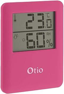 OTIO 936236 - Termómetro, higrómetro, color rosa