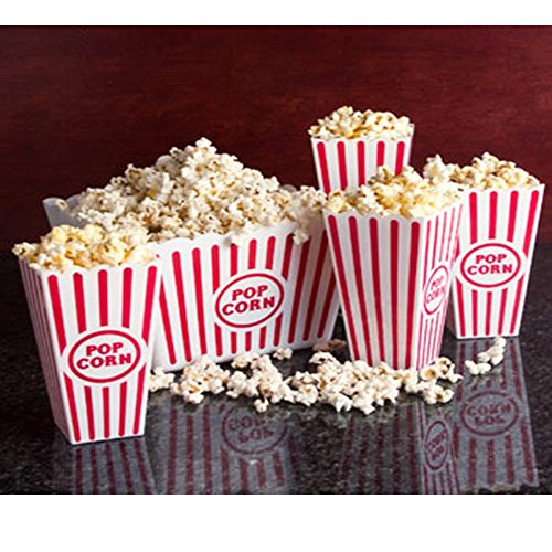 """Product Image 4: Plastic Popcorn Tub – 8.5"""" Square, 3 Pack by Greenbrier (3)"""