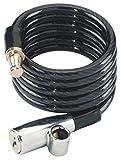 ABUS 1950/180 Black, AB7356 Unisex, Nero, 180 cm
