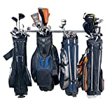 Best Golf Bag Organizers - Golf Bag Rack Industrial Steel Large Bags Sports Review