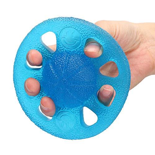 Yunnyp Haushalt Silikon Trainingsgriff Ball Handgriffe Stärker Fingerkraft Gymnastikball Rehabilitation Trainingsgerät