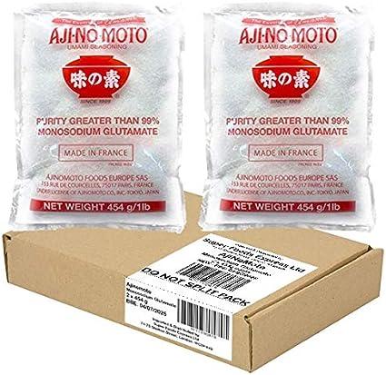 AjiNoMoto Monosodium Glutamate (MSG) - (2 x 454 g)