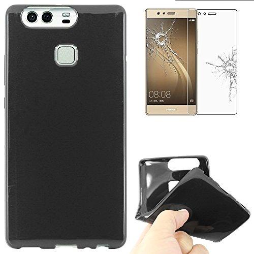 ebestStar - Funda Compatible con Huawei P9 Carcasa Transparente Silicona Gel Estuche...