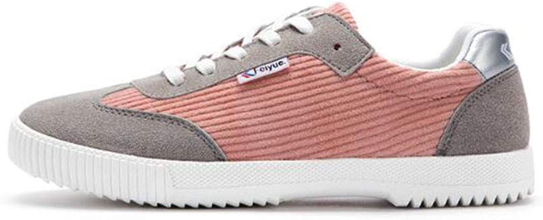 FH Corduroy Women's shoes Casual Canvas shoes Low shoes