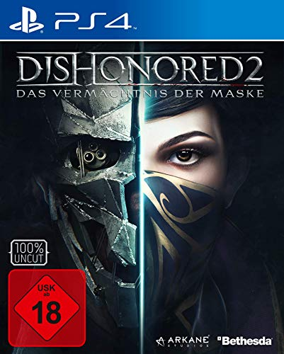 Dishonored 2: Das Vermächtnis Der Maske - Day One Edition [Importación Alemana]