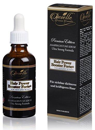 Mittel gegen Haarausfall Haarwachstums Serum - Hair Power Booster Forte+ 50 ml. sichtbar dichteres und kräftigeres Haar I Anti Hair Loss Serum I Haarwachstum beschleunigen für Frauen und Männer