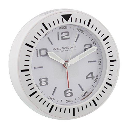 Diseño de Bold blanco reloj deportivo de pulsera para lateral de cama de diseño de reloj redondo de pie