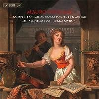 マウロ・ジュリアーニ : フルートとギターのための作品全集 (Mauro Giuliani : Complete Orignal Works for Flute & Guitar / Mikael Helasvuo , Jukka Savijoki) (3CD Box) [輸入盤]