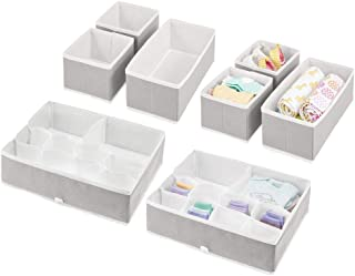 mDesign boîte de Rangement pour Chambre d'enfant (Set de 8) – bacs de Rangement élégants de différentes Tailles – Organise...