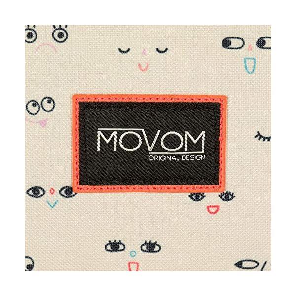 Movom Wink Mochila Doble Compartimento Multicolor 32x45x15 cms Poliéster 21.6L