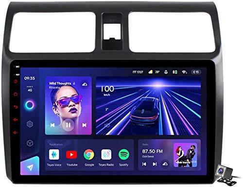 Android 10 Auto GPS Radio di navigazione GPS per Suzuki Swift 2005-2010 con supporto tattile da 9 pollici 5G FM AM RDS/DSP Player MP5 / Controllo volante/Carplay Android Auto