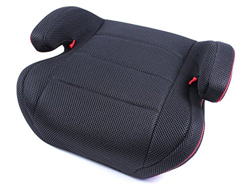 Kindersitzerhöhung EDEL STOFF Baby X4 Kinderautositz schwarz II-III 15-36kg