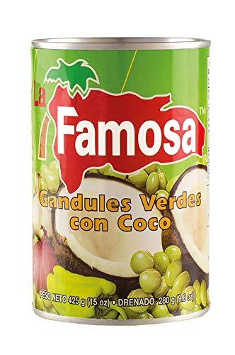 Grüne Erbsen mit Kokosmilch, Dose 425g - Gandules Verdes con Coco LA FAMOSA 425g