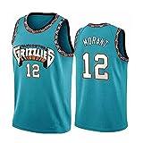 WEIZI Memphis Grizzlies Ja Morant #12 Camiseta de Baloncesto para Hombres...