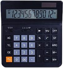 $33 » Electronics Calculator Basic Desktop Calculator Solar Battery Dual Power with 12-Digit Calculators Large Display Computer ...