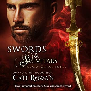 Swords and Scimitars     Alaia Chronicles: Legends              By:                                                                                                                                 Cate Rowan                               Narrated by:                                                                                                                                 Rish Outfield                      Length: 51 mins     8 ratings     Overall 3.6