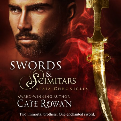 Swords and Scimitars audiobook cover art