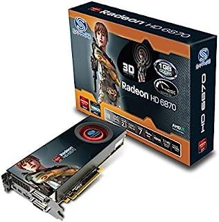Sapphire 11179-17-40G - Tarjeta gráfica (Radeon HD 6870, 2560 x 1600 Pixeles, AMD, 1 GB, GDDR5-SDRAM, 256 bit)