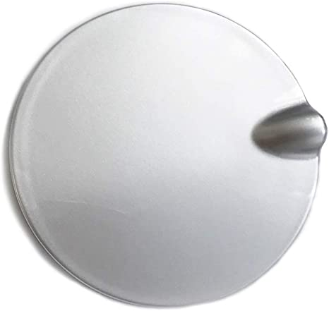 Car Fuel Tank Cover Oil Cap Fuel Gas Lid Cover Flap Fit For Ford Focus 2 Mk2 Mk3 Color : Grey