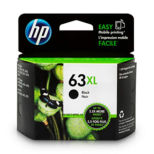 HP 63XL | Ink Cartridge | Black ...