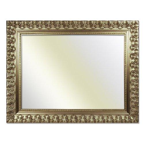 Barockrahmen 750 ARG, silber, 70 x 100 cm, Spiegel