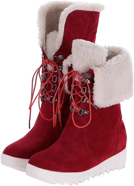 Bottes d 'hiver 'hiver 'hiver de sexe féminin en pente invisible et bottes de neige chaude  exklusiv
