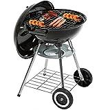 Barbecue a carbonella Grill carbone da Giardino Campeggio Balcone con Coperchio XXL