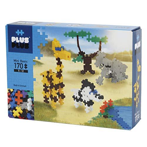 Plus-Plus 3725 juguete de construcción Juego de construcción - Juguetes de construcción (Juego de construcción, Multicolor, 5 año(s), 170 pieza(s), Niño/niña, Adultos y niños) , color/modelo surtido