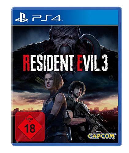 Resident Evil 3 - 100% UNCUT, USK18 [PlayStation 4 ]