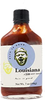 Louisiana Style Hot Sauce - 2 Pack - 7oz Bottles - Made in USA with Habanero Peppers - All Natural Ingredients, Non-GMO, G...