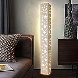 DONGYANG-Lámparas- * Lámpara de pie Estrella Hollow Grabing LED Lámpara de pie PVC...