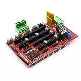 WINGONEER 3D Printer Controller RAMPS 1.4 Mega Shield for Arduino Reprap Prusa Mendel